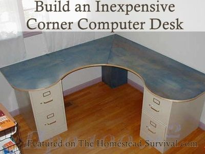 Best Office Images On Pinterest Corner Desk Home Offices And - Build corner computer desk