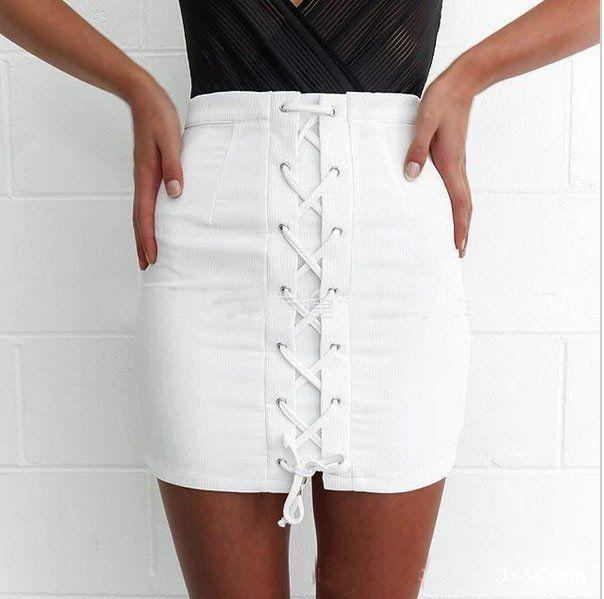Sexy bandage skirt