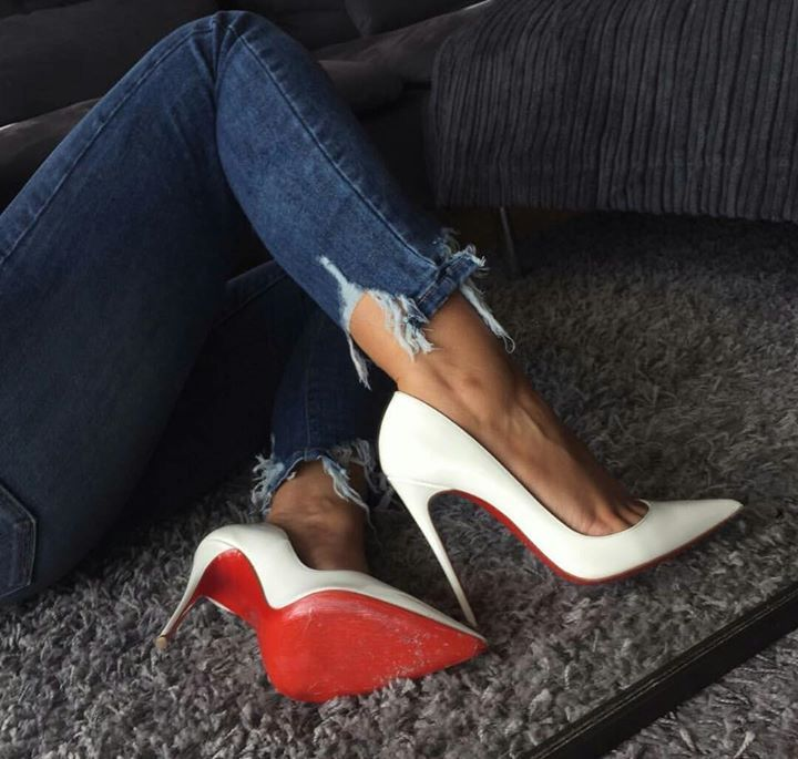 These Are Red Bottoms These Expensive These Are Blood Shoes