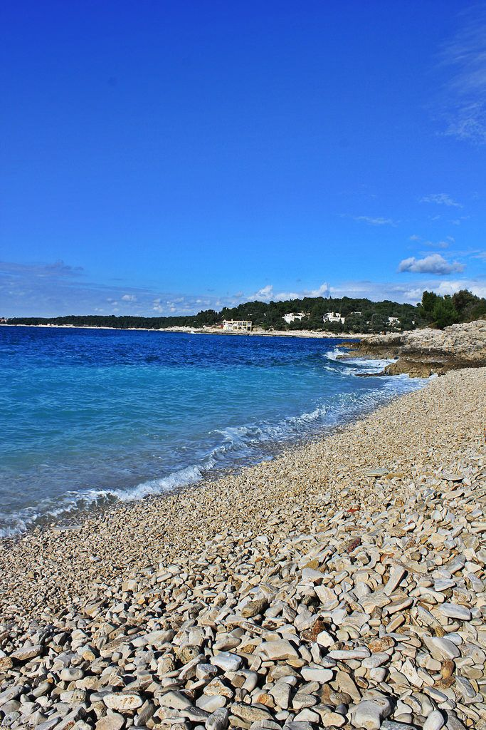Verudela beach, Pula, Croatia