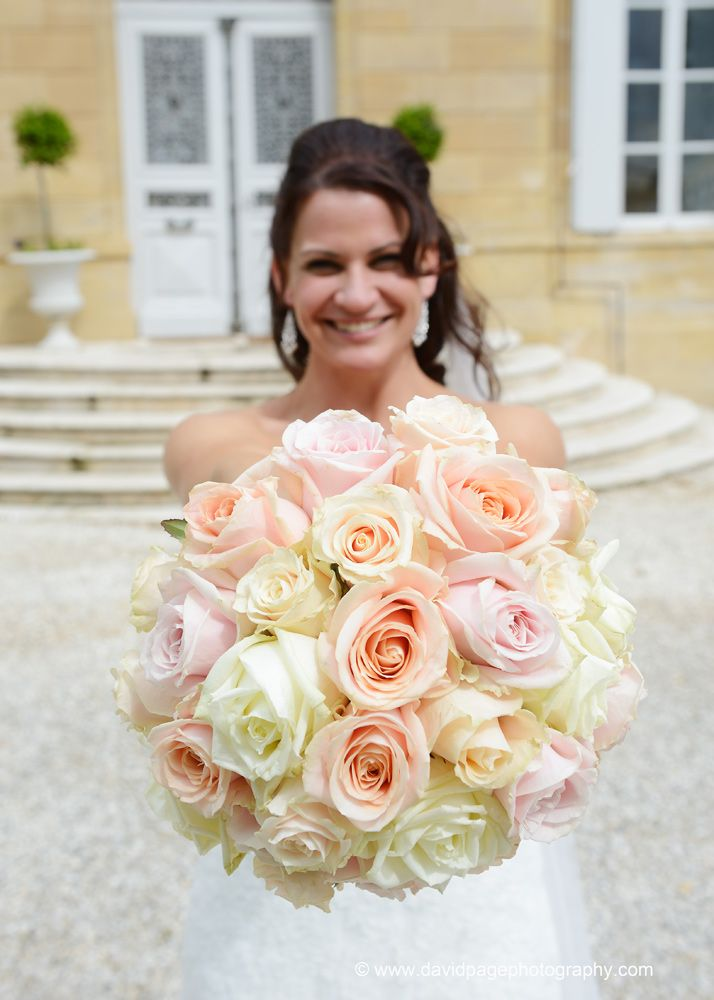 Pastel Rose Hand tied Bouquet by French Flower Style