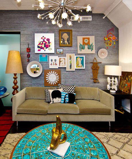 Jonathan Adler Studio Tour   Colorful Designer Office