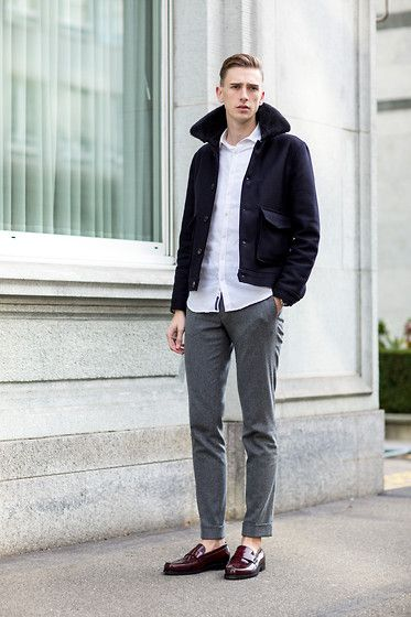 Get this look: http://lb.nu/look/7969626 More looks by Oliver Lips: http://lb.nu/oliverlips Items in this look: Pedro Penny Loafers #chic #dapper #elegant