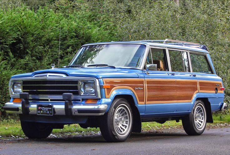 The Jeep Wagoneer in Light Blue Metallic (Spinnaker Blue ...