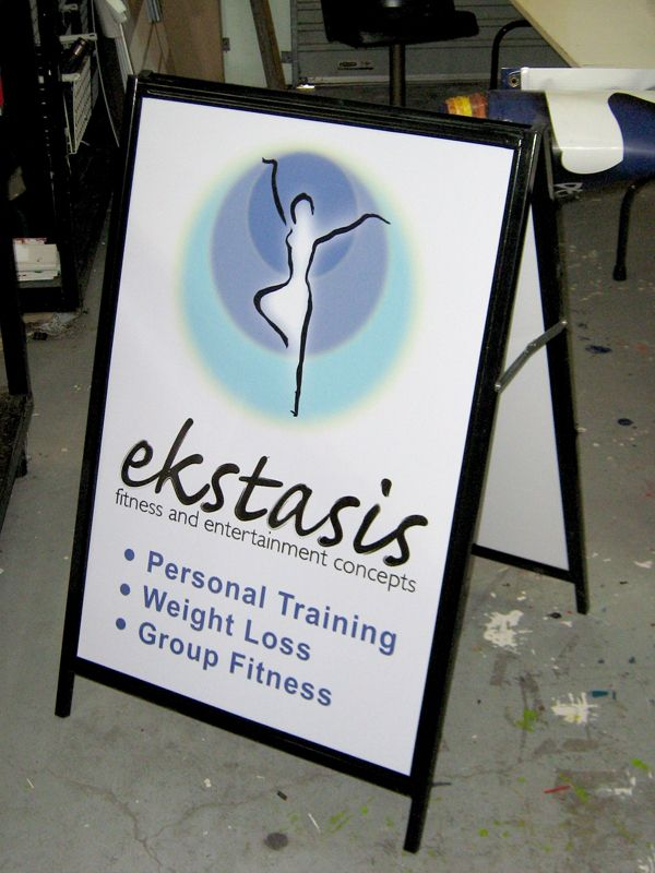 Ekststis - Personal Training - #Standard #Signage