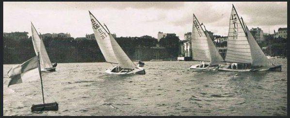Moda'da yelken yarışları (1930'lar) #istanbul #birzamanlar #oldpics #dünyayıkoru #istanlook