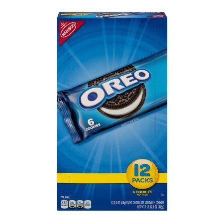 Nabisco Oreo 12 pack tray, 6 count