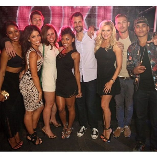 Hit the floor cast is one big happy family vh1 hit for Hit the floor meaning