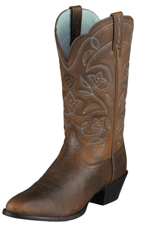 Womens Heritage Western R Toe Boot by Ariat Boots