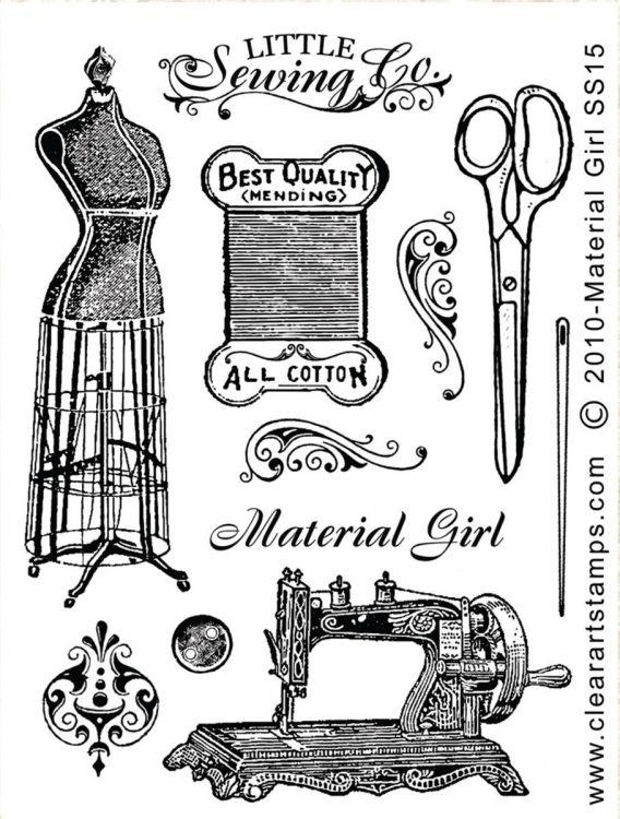 Cosas para coser vintage