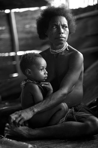 Papuans. West Papua, Indonesia via Flickr.