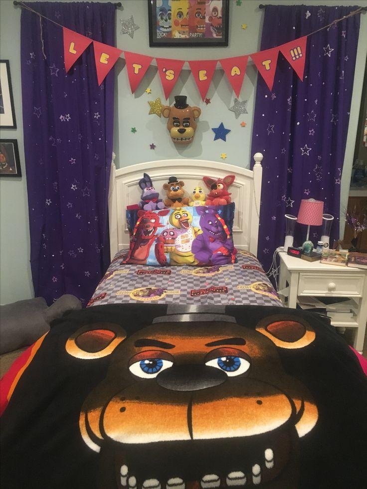 Five Nights At Freddys Room Ikea Pink Comforter Target