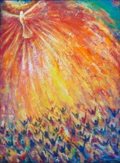 Pentecost by Veronica Dimae