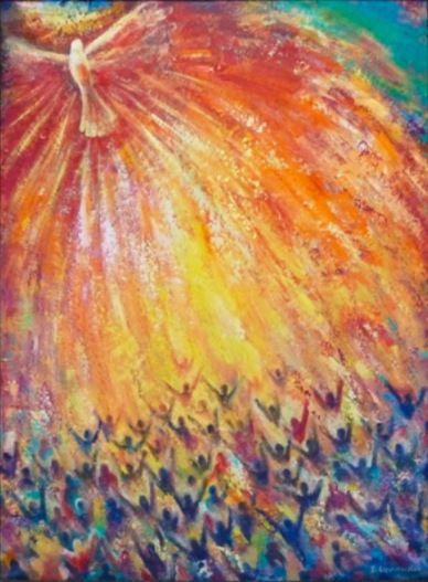 Pentecost by Veronica Dimae