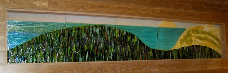 Art Glass Installation in Ronald McDonald House Chicago and Northwest Indiana