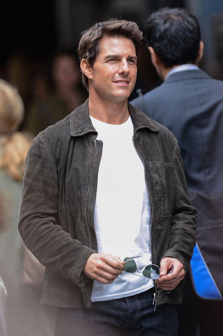 Tom Cruise on the set of Oblivion by Joseph Kosinski in NYC in June 2012.