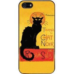 """Cover per iPhone """"Le chat noir"""""""