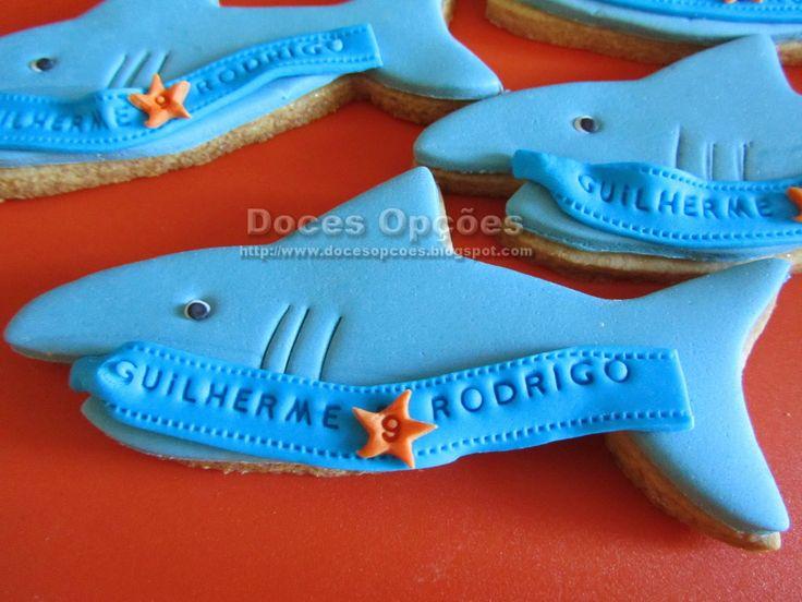 Doces Opções: Bolachas tubarão