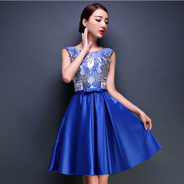 Modelos de vestidos de fiesta para el dia