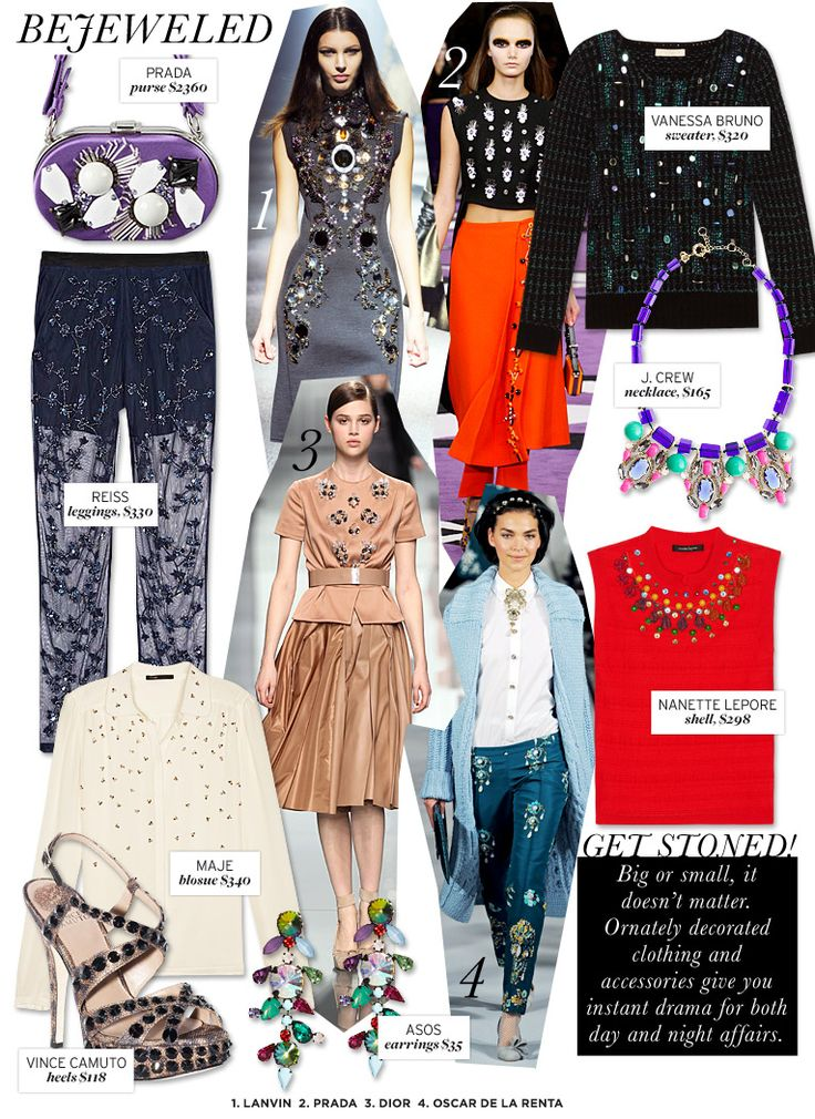 Who What Wear | Fall 2012 Trend Guide | Bejeweled