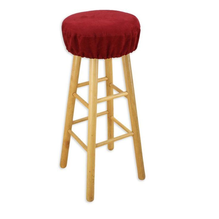 Brite Ideas Living Passion Suede 16 in. Round Foam Bar Stool Cushion  Chocolate - BS16K805 - Best 25+ Bar Stool Cushions Ideas On Pinterest Diy Shower Seats
