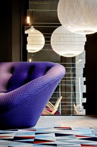 zoom sur le canap ploum objet du d sir deco lesfr resbouroullec ploum ligneroset design. Black Bedroom Furniture Sets. Home Design Ideas