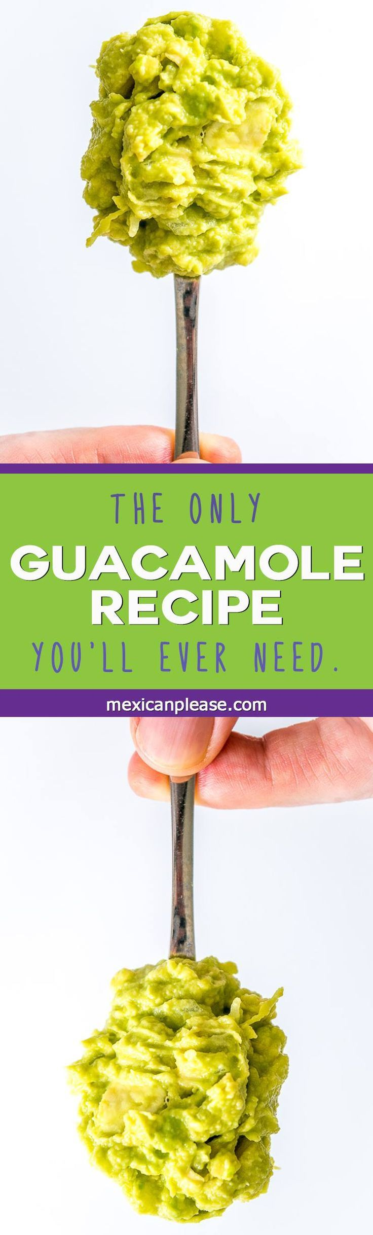 This recipe proves how good Guacamole can be when using onion, lime, salt and avocado in balanced proportions -- also includes an onion smooshing tip to enhance flavor http://mexicanplease.com
