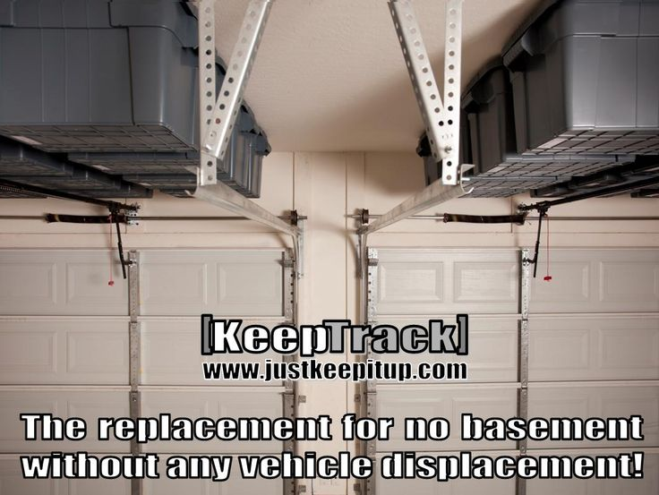Www.justkeepitup.com Specializing In Overhead Garage Storage That Creates  New Found Capacity For Storage Out Of Useless Spaces Like Above Your Garage  Door.