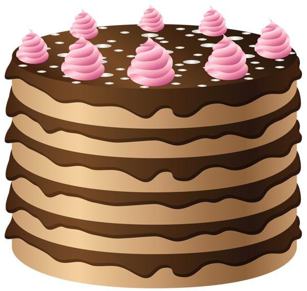 Large Birthday Cake Clip Art