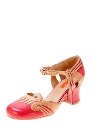 Eloy Ankle Strap Pump on HauteLook...I love baby doll toed shoes. My very fave was when I was about 15 or 16...red and navy blue my very fave shoes ever!