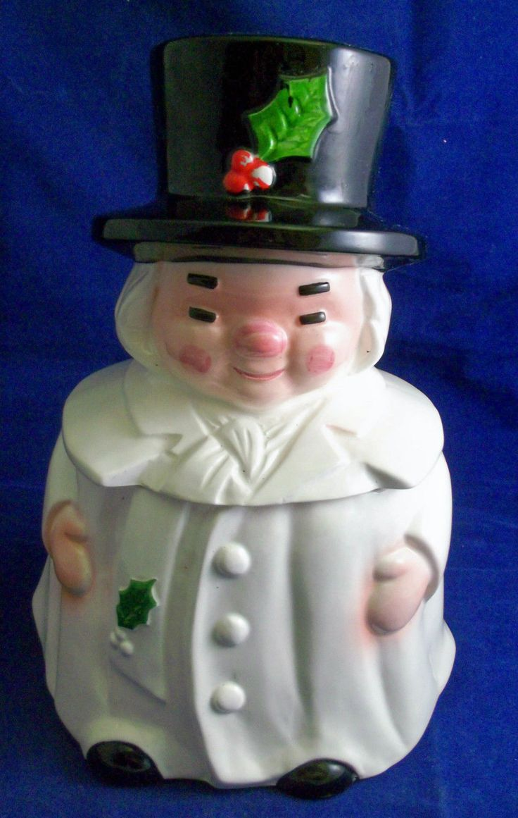 5771 best antique cookie jars images on pinterest vintage cookie vintage ceramic uncle mistletoe christmas marshall fields chicago cookie jar