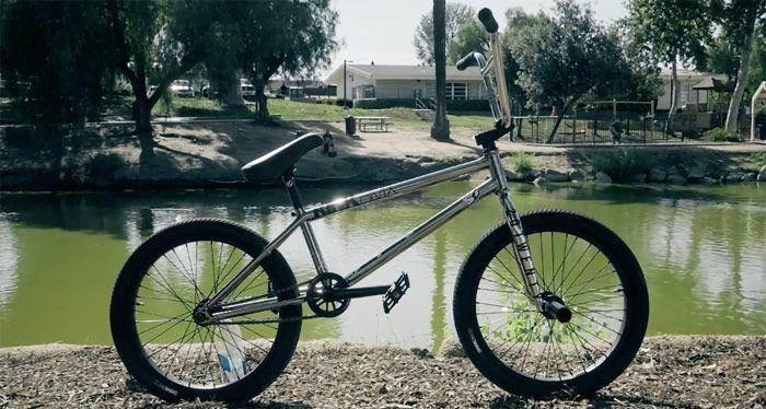 Kink BMX- Ben Basford Video Bike Check  http://bmxunion.com/daily/kink-bmx-ben-basford-bike-build/  #BMX #bike #bicycle #style #chrome #custom