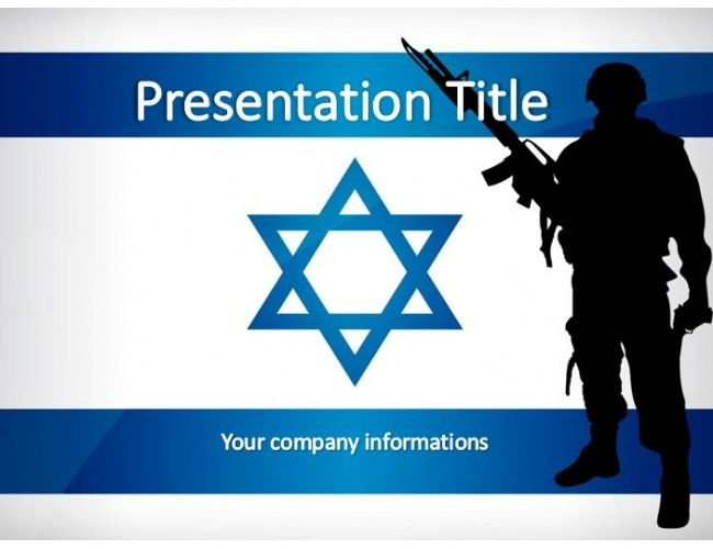 110 best powerpoint templates images on pinterest the israeli soldier free powerpoint template toneelgroepblik Choice Image