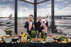 John Torode and Gregg Wallace Become Official Taste Buds of Heathrow