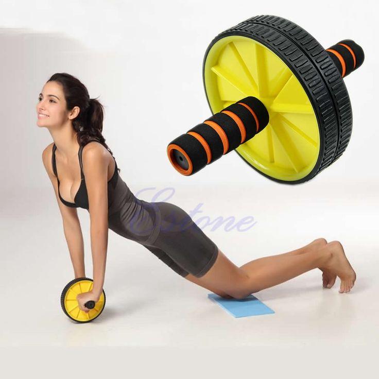 Купить W110 новых прибыть двойные ABS брюшной ролика колеса тренировки тренажер тренажерный зал упражнение роликаи другие товары категории Гимнастические роликив магазине co-co fashion storeнаAliExpress. спортивные шорты и колесо zipp