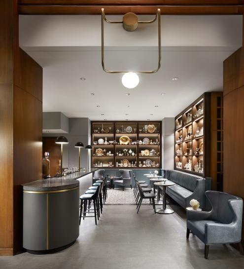 Victor Restaurant | Le Germain Hotel | DesignAgency