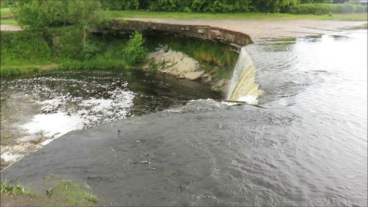 Jägala Wasserfall Estland #travel #travelvideo #video #travelblog #reiseblog