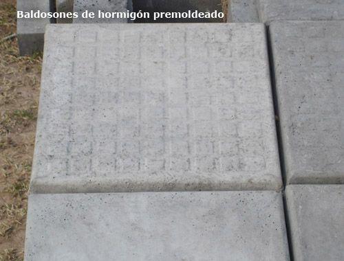 Baldosones – Premoldeados – Areco