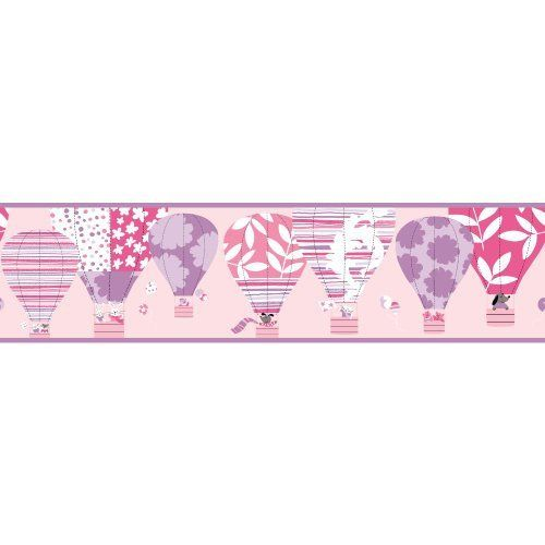 York Wallcoverings YS9187BDSMP Peek-A-Boo Hot Air Balloon 8-Inch x 10-Inch Memo Sample Wallpaper-Borders, Powder Pink/Lavender/Purple by York Wallcoverings, http://www.amazon.com/dp/B00FHZ59AE/ref=cm_sw_r_pi_dp_llBDsb03C3JY1