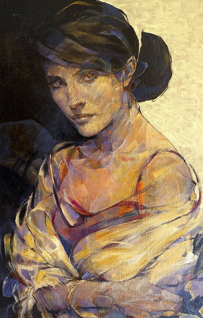 https://flic.kr/p/xkTyGq | Paris Art Web - Painting - Fabien Clesse | Painting by the French artist Fabien Clesse | See more: www.parisartweb.com/artists/painting/fabien-clesse/ | #Art #Painting #Portrait #France #FabienClesse #ParisArtWeb