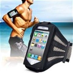 Handy Gym Sports Armband Case Cover Holder Fits Arm Circumference 30-40cm for iPhone 4G