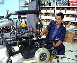 Servicio General Silla de Ruedas Electrica