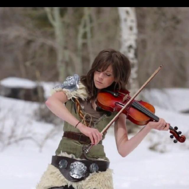 Skyrim girl. #skyrim #dawnguard #hearthfire Lindsey Stirling