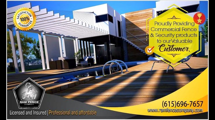 Proudly providing commercial fence y security products to our valuable c...