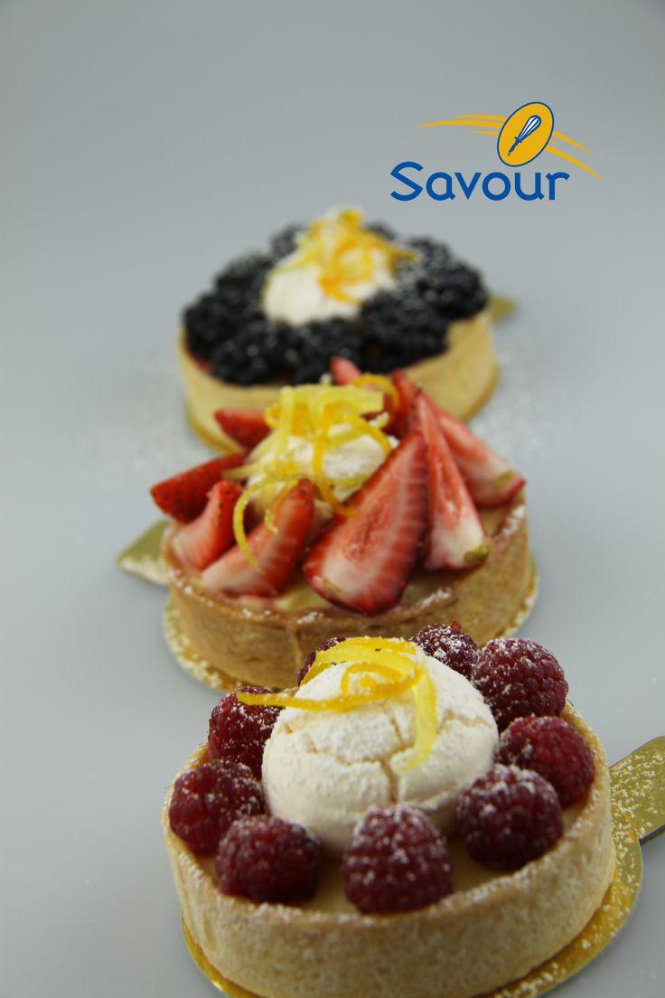 Some red fruits tarts #tarts