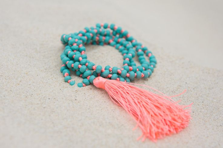 Turquoise Bay Tassel Necklace. S A L T | W A T E R The cure for anything is salt water: sweat, tears or the sea. Turquoise Bay is one of Western Australia's most gorgeous beaches, and our stunning 'Turquoise Bay' accessories match the beautiful clear waters. On trend neon tassels add something special to your outfit, and all items are designed to layer and stack to add extra oomph. What makes these gorgeous necklaces special is the additional length! #RubyAndLilli
