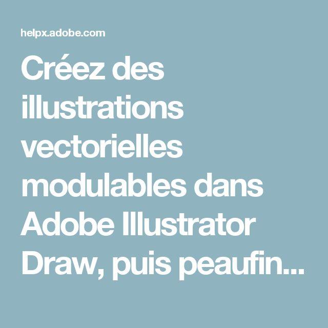 Créez des illustrations vectorielles modulables dans Adobe Illustrator Draw, puis peaufinez-les dans IllustratorCC et importez-les dans PhotoshopCC.   Tutoriels Adobe Creative Cloud Mobile Apps