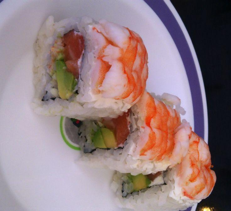 Wasabi roll. Wasabi Sushi Marbella.