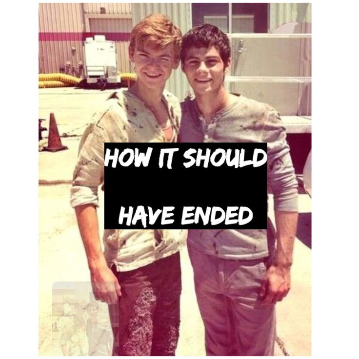 Yes that is how it should have ended Newt should have live he doesn't need to die he deserves to live