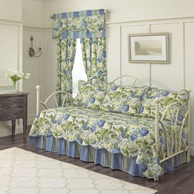 waverly floral flourish reversible 5pc daybed cover set u0026 accessories